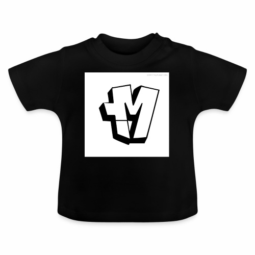 graffiti alphabet m - Baby T-Shirt