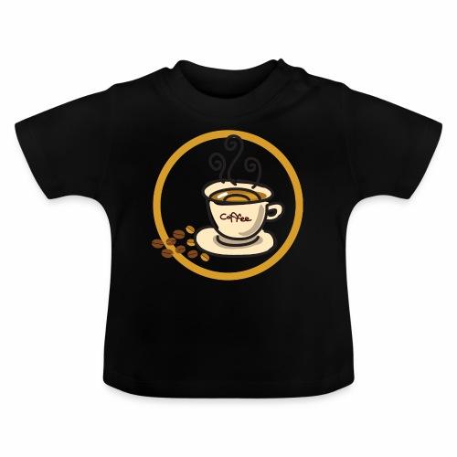 Kaffeeemblem - Baby T-Shirt