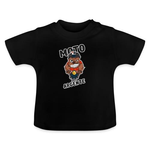 moto argente - T-shirt Bébé
