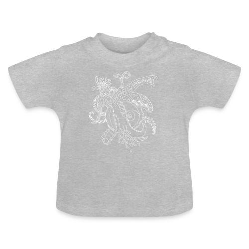 Fantasy hvid scribblesirii - Baby T-shirt