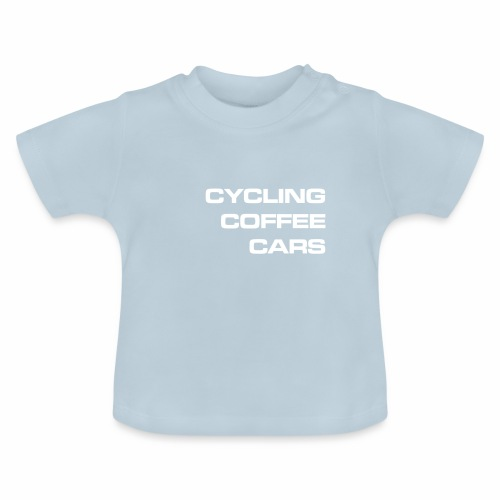 Cycling Cars & Coffee - Baby T-Shirt