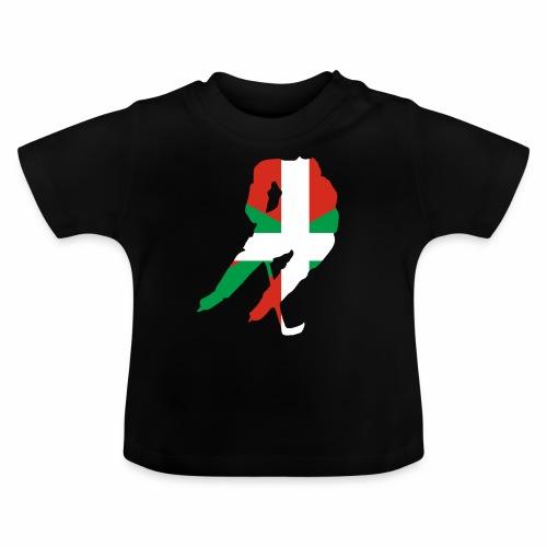 hockeyeur et basque - T-shirt Bébé