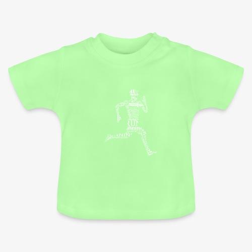 run - Koszulka niemowlęca