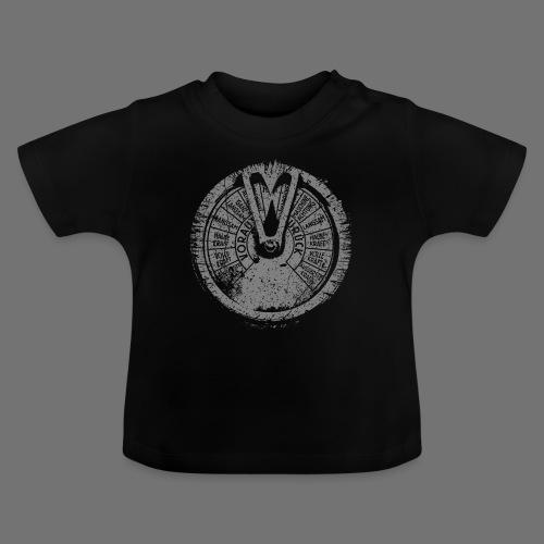 Maschinentelegraph (grå oldstyle) - Baby T-shirt