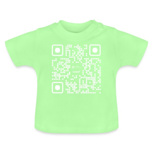 QR - Maidsafe.net White - Baby T-Shirt