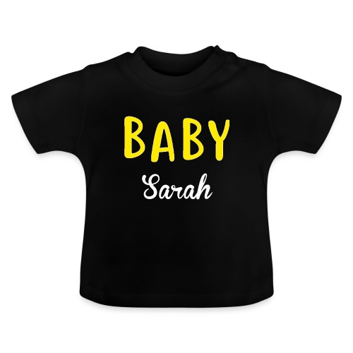 baby sarah black design - Baby T-Shirt