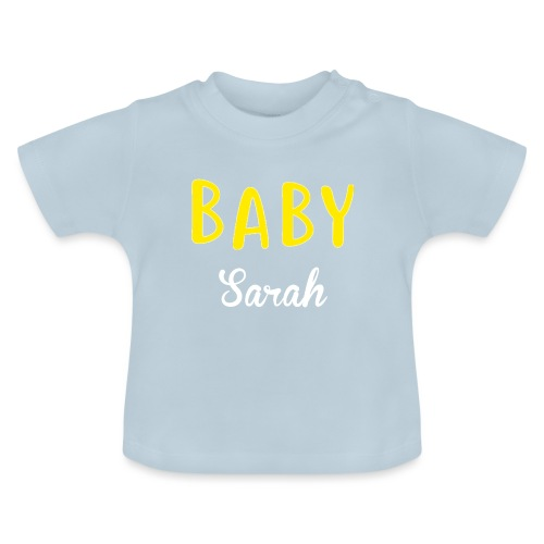 baby sarah black design - Baby T-Shirt