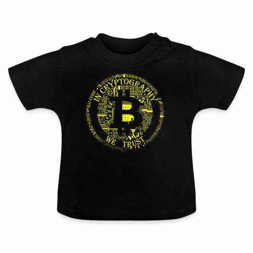 In cryptography we trust 2 - Baby T-Shirt