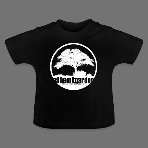 hiljainen puutarha (valkoinen) - Vauvan t-paita