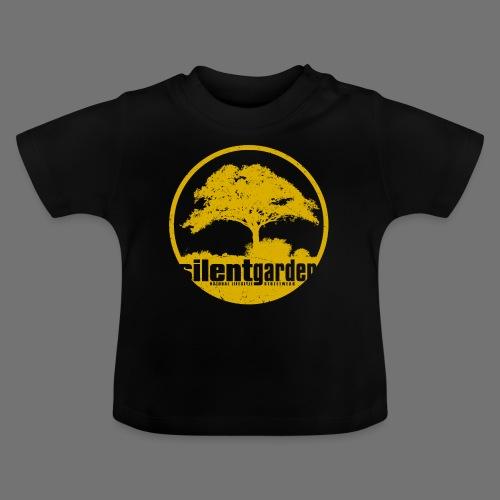 hiljainen puutarha (keltainen oldstyle) - Vauvan t-paita