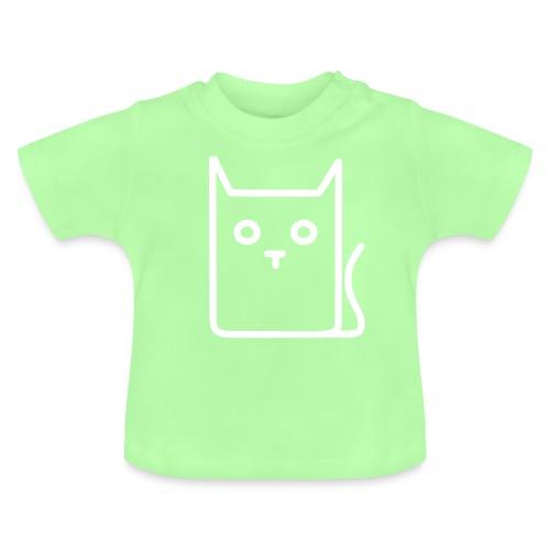 Katze Weiß - Baby T-Shirt