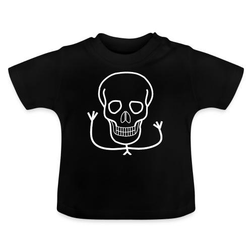 Freundlicher Knochenkopf - Baby T-Shirt