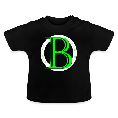 Wit Groen-logo - Baby T-shirt