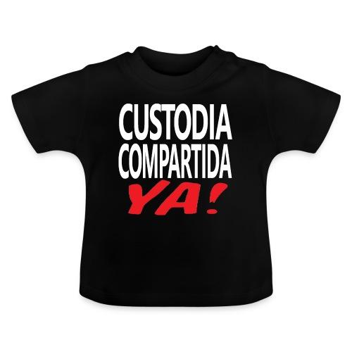 Custodia Compartida YA - Camiseta bebé