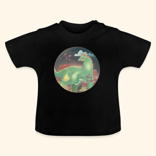 Dinosaur in the landscape - Maglietta per neonato