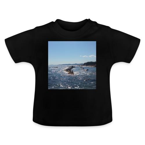 Mer avec roches - T-shirt Bébé