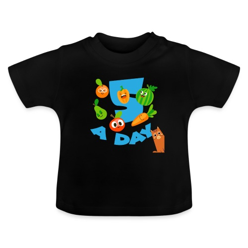 Duna five a day - Baby-T-skjorte