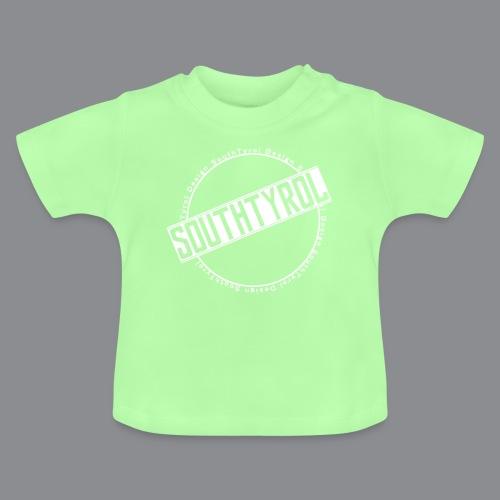 SouthTyrol Kreis weiß - Baby T-Shirt