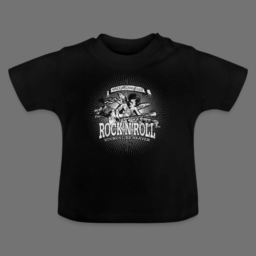 Rock 'n' Roll - Sounds Like Heaven (biały) - Koszulka niemowlęca