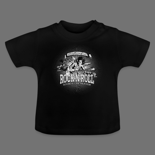 Rock 'n' Roll - Sounds Like Heaven (hvid) - Baby T-shirt