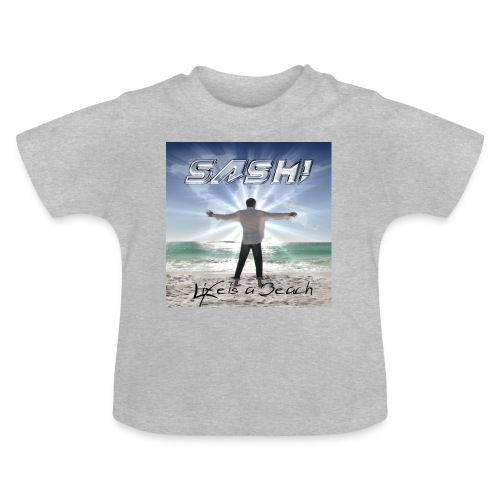 Life Is A Beach Cover - Baby T-Shirt
