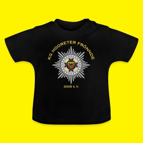 Gelbe Schrift - Baby T-Shirt
