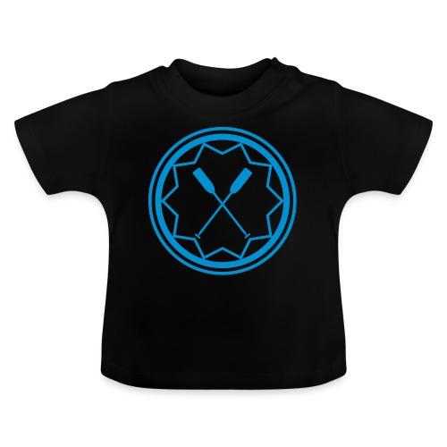 Drachenboot Kanu Outrigger Emblem Paddel 1c - Baby T-Shirt