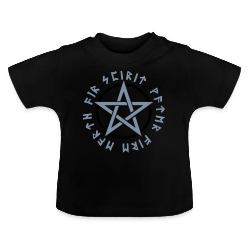 Pentagramm, Elemente, Runen, Magie, Symbol, Stern - Baby T-Shirt