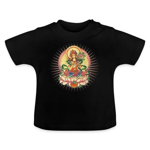 Tara Tibet Buddhismus Lotus Meditation Yoga - Baby T-Shirt