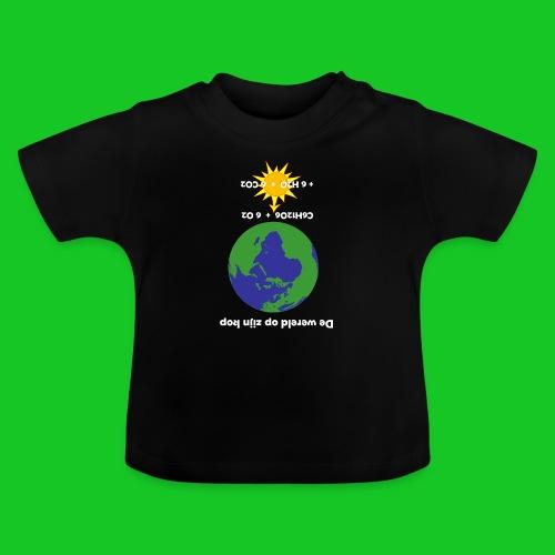 De wereld op zijn kop - Baby T-shirt
