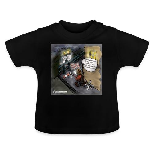 Cartoon SmartZone Ende der Ausbaustrecke - Baby T-Shirt