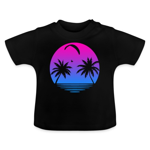 Paragliding Sunset - Baby T-Shirt