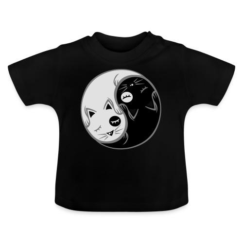 Yin Yang katze flex - Baby T-Shirt