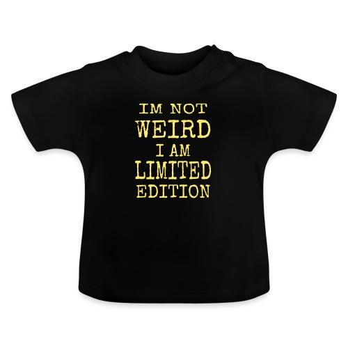Weird yellow - Baby-T-shirt