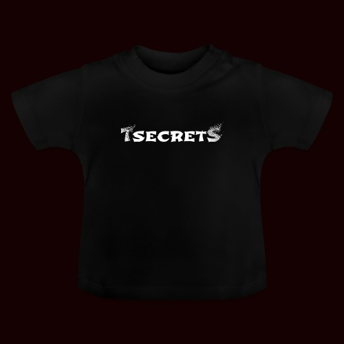 TsecretS white - Baby T-Shirt