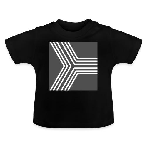 BANDES BLANC/GRIS - T-shirt Bébé
