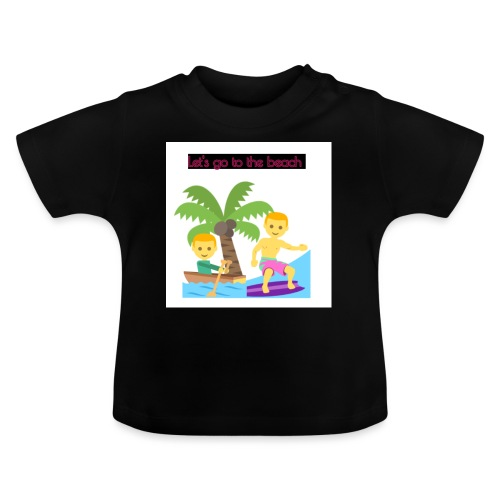 beach - Baby-T-shirt
