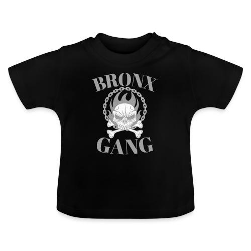 bronx gang flamme tête de mort - T-shirt Bébé