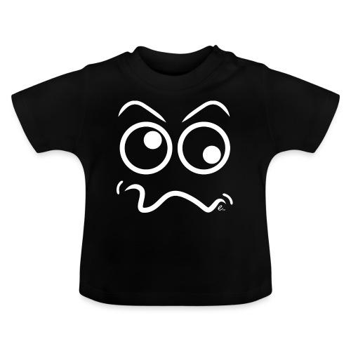 Tête marrante (blanc) - T-shirt Bébé