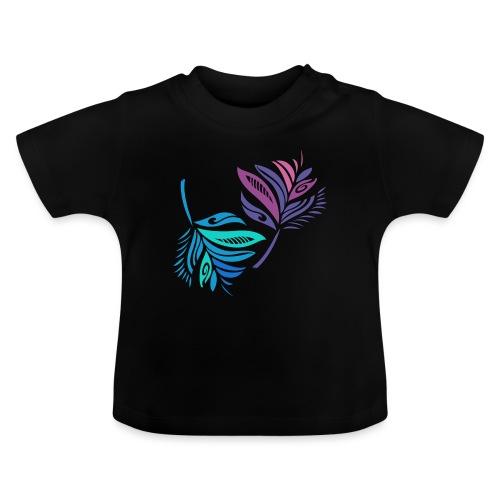 foglie geometriche - Maglietta per neonato