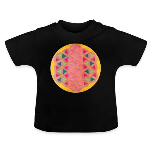 Blume des Lebens - Baby T-Shirt