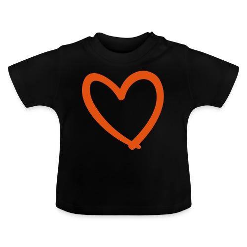 Heart Lines Pixellamb - Baby T-Shirt