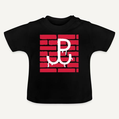 Kotwica Polski Walczącej na murze - Koszulka niemowlęca