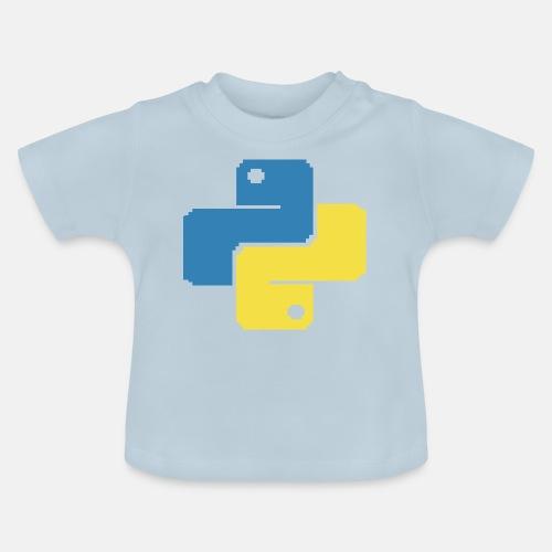 Python Pixelart - Baby T-Shirt