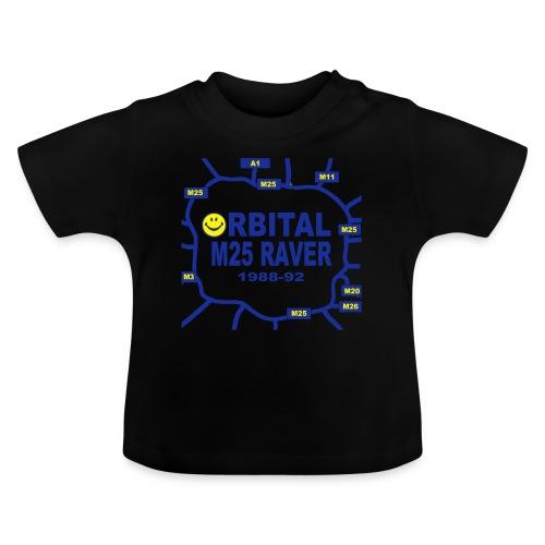 Orbital M25 Acid Hosue Raver - Baby T-Shirt