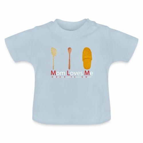 Mamma Loves Me - Maglietta per neonato