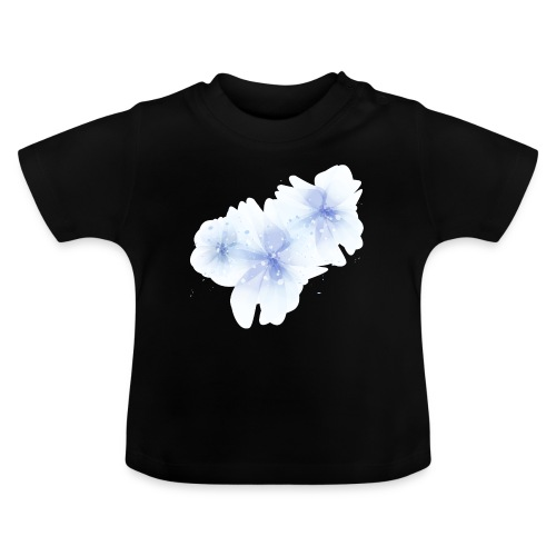 blue flowers - Koszulka niemowlęca