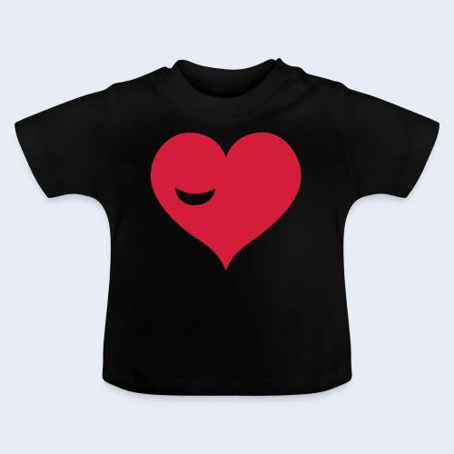Winky Heart - Baby T-shirt