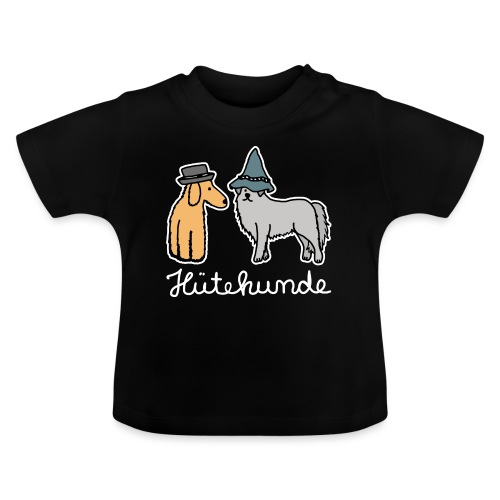 Hütehunde Hunde mit Hut Huetehund - Baby T-Shirt