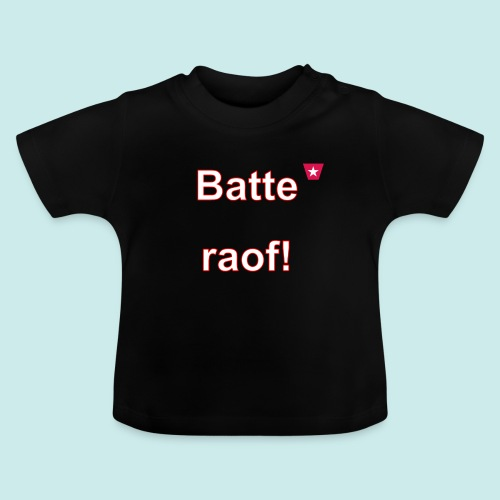 Batteraof vert w - Baby T-shirt